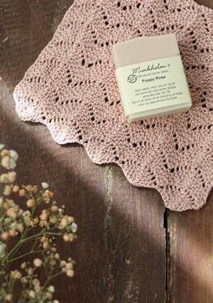 ENG 190 ROSES WASHCLOTH